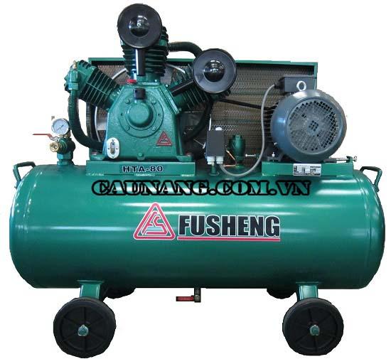 Máy nén không khí Fusheng được nhiều trạm rửa xe sử dụng