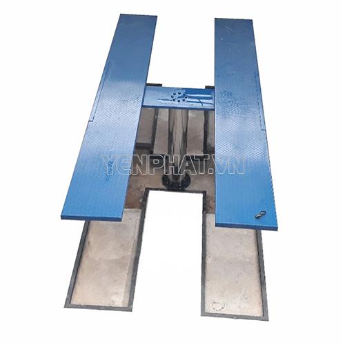 Cầu nâng 1 trụ rửa xe Ấn Độ - Bàn âm