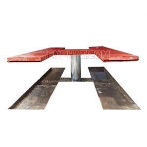 Cầu nâng rửa xe 1 trụ bàn âm
