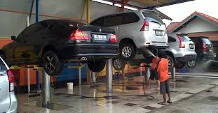 Cầu nâng rửa xe một trụ SENOK PU04