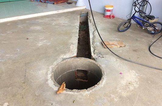 Đơn vị thi công phải đáp ứng yêu cầu về đường kính hố móng, đường dẫn dầu