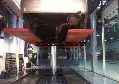 Công ty Yên Phát đã thi công lắp đặt cầu nâng 1 trụ cho các gara ô tô