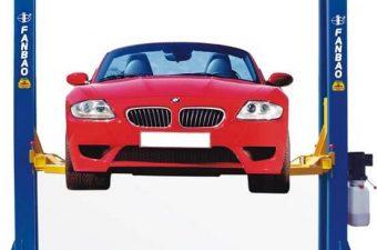 Cầu nâng 2 trụ hỗ trợ tối đa cho công việc bảo dưỡng, sửa chữa xe hơi