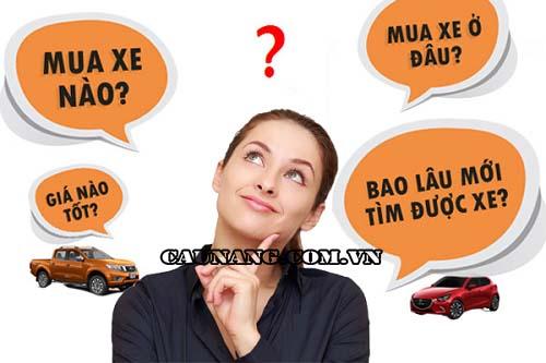 Kinh nghiệm mua xe ô tô cũ ở Hà Nội Uy tín Rẻ - Đẹp