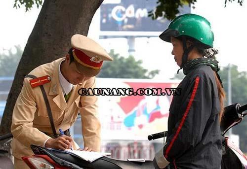 Mức phạt được áp dụng khi không có bằng lái xe máy A1