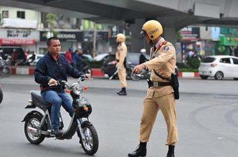 Các lỗi khi tham gia giao thông và mức xử phạt