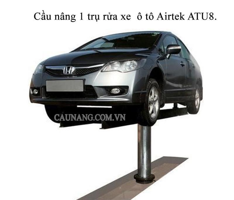 Cầu nâng 1 trụ rửa xe  ô tô Airtek ATU8