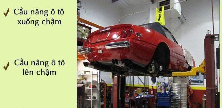 Những dấu hiệu sau sẽ giúp bạn phát hiện ra cầu nâng ô tô đang bị lỗi