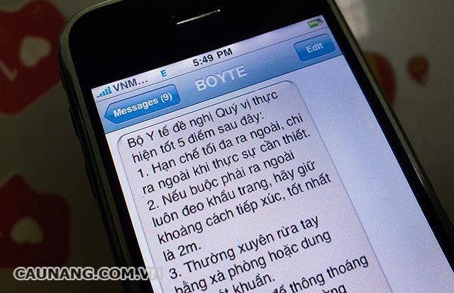 SMS còn được sử dụng trong marketing và tuyên truyền thông tin