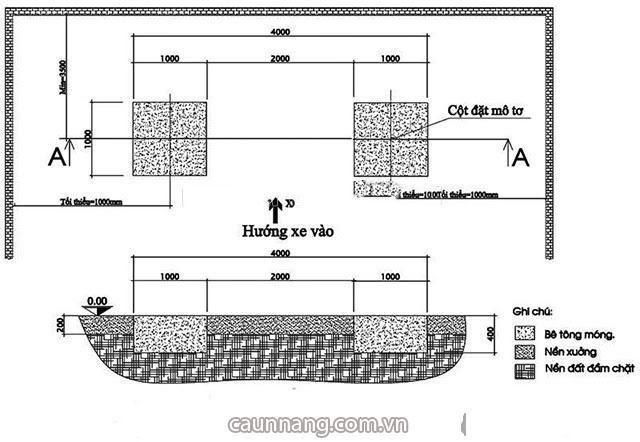 Cầu nâng 2 trụ ô tô hoạt động dựa trên nguyên lý gì?