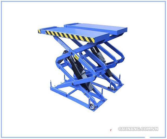 Sản phẩm cầu nâng cắt kéo thân dài